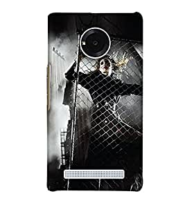 Print Haat Back Cover for YU Yuphoria (Multi-Color)