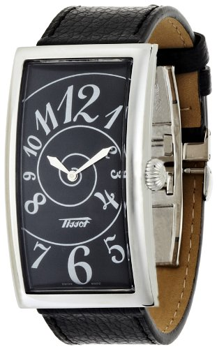 T-Prince Tissot Men's Watch with Black Dial