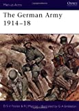 img - for The German Army 1914-18 (Men-at-Arms) by Donald Fosten (1978-07-27) book / textbook / text book
