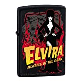 Custom Elvira Licorice Zippo Lighter