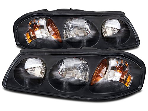 Chevy Impala Headlights OE Style Replacement Headlamps Driver/Passenger Pair New (Oe Headlights compare prices)