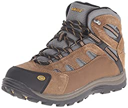 Hi-Tec Bandera Waterproof JR Hiking Boot (Toddler/Little Kid/Big Kid), Bone/Brown/Mustard, 1.5 M US Little Kid