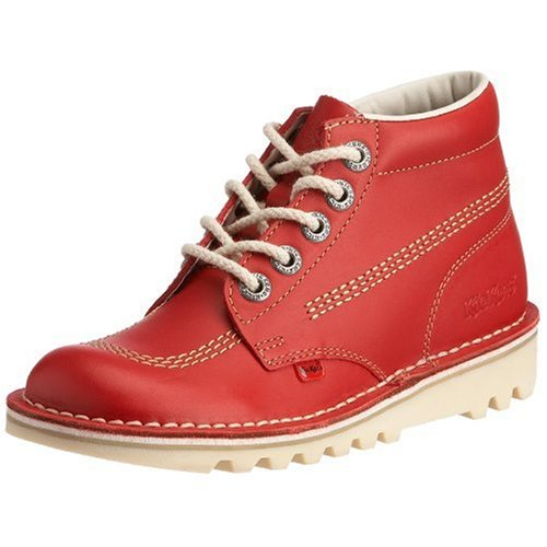 Kickers - Kf0000120_Rc0_42, Stivale da donna, Red, 42