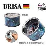Amazon.co.jpBRISA ブリサ MyClock First Man on the Moon 缶詰スタイルのデザインクロック 文字盤とアウターラベルを自分好みの写真に差し替え可能!!BRISA-013