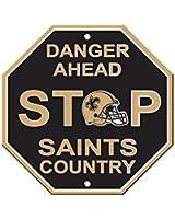 NFL New Orleans Saints Stop Sign