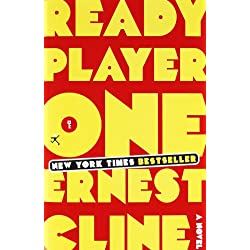 Ernest Clines Ready Player One Hardcover Book
