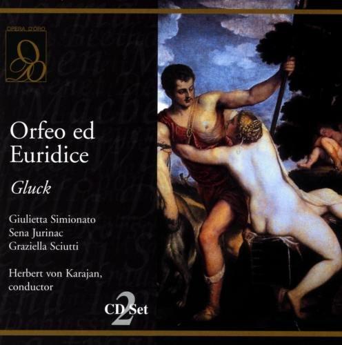 Gluck - Orfeo ed Euridice / Simionato · Jurinac · Sciutti · Karajan