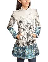 Desigual Lady Blue Womens Coat