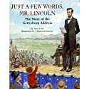 Just a Few Words, Mr. Lincoln (       UNABRIDGED) by Jean Fritz Narrated by Rex Robbins