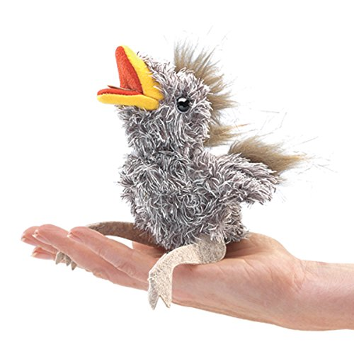 Folkmanis Mini Baby Bird Finger Puppet - 1