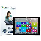 Tech Armor Microsoft Surface Pro 3 (2014)(NOT Surface 3) High Definition (HD) Clear Screen Protectors - Max Clarity [2-Pack] Lifetime Warranty