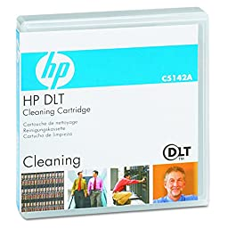 Hewlett Packard Dlt Tape Cleaning Cart 20 Head Cleaning Cycles P/Cart 1-Pk