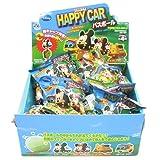 【単品】《Disneyはたらくのりもの/HAPPY CAR》フィギュアが飛び出るバスボール(発砲入浴剤)☆ディズニーキャラクターグッズ通販☆草原の香り