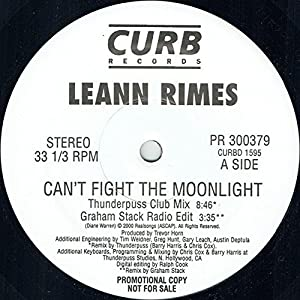 Can't Fight the Moonlight - O.S.T. [Vinyl Single]