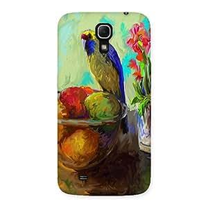 Ajay Enterprises Paint Beutyfull Bird Back Case Cover for Galaxy Mega 6.3