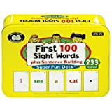 First 100 Sight Words Plus Sentence Building Fun Deck - Super Duper Educational Learning Toy For Kid