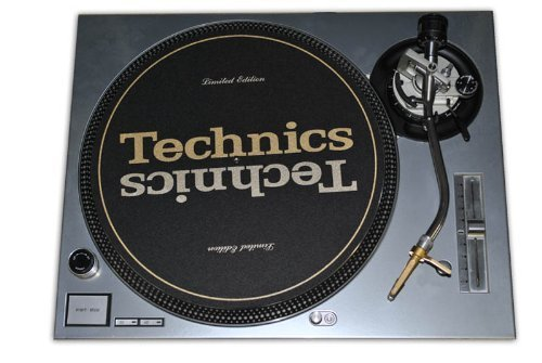 Technics Silver Face Plate for Technics SL-1200 / SL-1210 MK5 M3D Turntables (Turntable Dicer compare prices)
