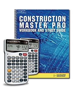 Construction Master Pro Calculator and Workbook Study Guide
