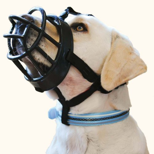 Baskerville Ultra Dog Muzzle Flexible Comfortable Basket Muzzle