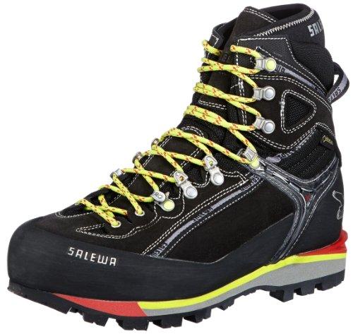 Salewa MS BLACKBIRD EVO GTX(W), Scarpe da escursionismo e trekking uomo, Schwarz (Black/Cactus 0916), 42.5
