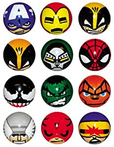 Marvel Heroes Foam Balls - set of 12