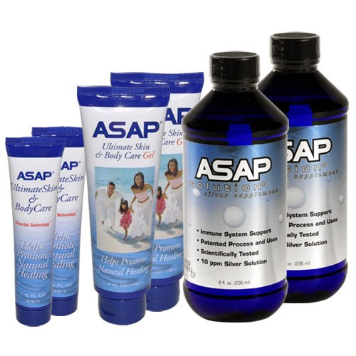 ASAP Silver Solution Supplement Variety Pack for Your Emergency Kit