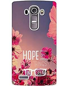 Hugo LG G4 Stylus Back Cover Hard Case Printed Designer Multicolour