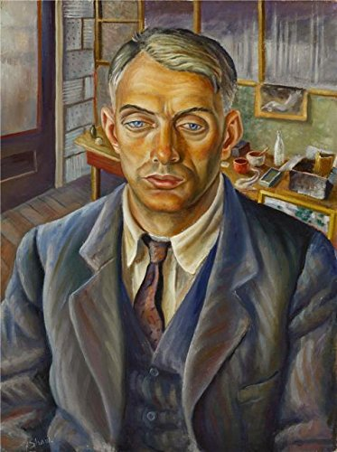 High Quality Polyster Canvas ,the Amazing Art Decorative Prints On Canvas Of Oil Painting 'Frederick Emanuel Shane,Portrait Of A Man,about 1934', 30x40 Inch / 76x102 Cm Is Best For Powder Room Gallery Art And Home Decoration And Gifts
