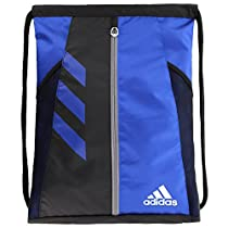 adidas Team Issue Sackpack, One Size, Bold Blue/Black