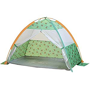 Pacific Play Tents Under the Sea Cabana w/ Zippered Mesh Front