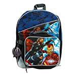16 Full Size Avengers Back Pack with Detachable Lunch Bag