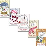 Agatha Raisin Collection 5 Books Set By M C Beaton, (Day the Floods Came, There Goes the Bride, A Spoonfull of Poison, Love from Hell, Kissing Christmas Goodbye) M C Beaton