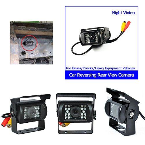 Telecamera posteriore per auto CMOS Kit camion di retrovisione senza fili di IR di visione notturna macchina fotografica di sostegno per camion / Van / Area / Trailer / Camper PAL e NTSC dell'alta soluzione