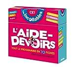 L AIDE-DEVOIRS INCOLLABLES CE1