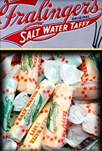Fralingers Salt Water Taffy 9 Flavor Assortment - 2 1/2 Lbs