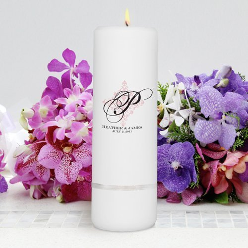 Round Pillar Candle Pp4