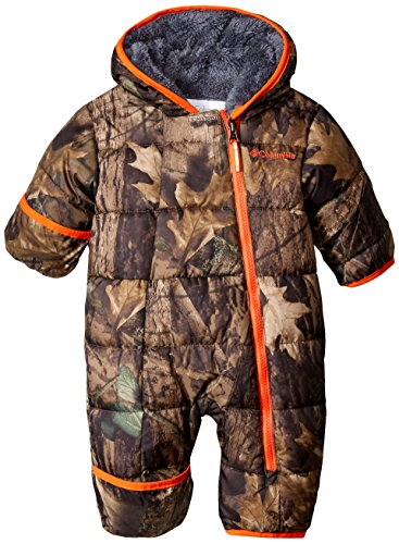 Columbia Baby Boys' Frosty Freeze Bunting, Timberwolf, 3-6 Months