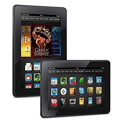 """Kindle Fire HDX 7"""", HDX Display, Wi-Fi, 16 GB - Includes Special Offers (Previous Generation - 3rd)"""