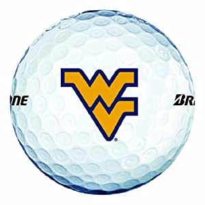 Buy NCAA West Virginia Mountaineers Logo 2013 e6 Golf Balls (Pack of 12) by Bridgestone