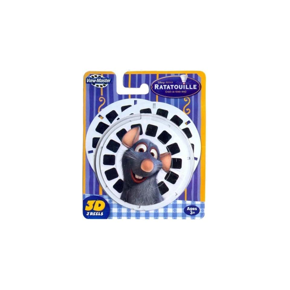 View Master 3 Pack Reels Ratatouille