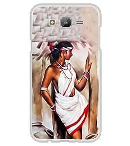 Village Belle Painting 2D Hard Polycarbonate Designer Back Case Cover for Samsung Galaxy E5 (2015) :: Samsung Galaxy E5 Duos :: Samsung Galaxy E5 E500F E500H E500HQ E500M E500F/DS E500H/DS E500M/DS