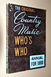 img - for The Original Country Music Who's Who Annual for 1960 book / textbook / text book