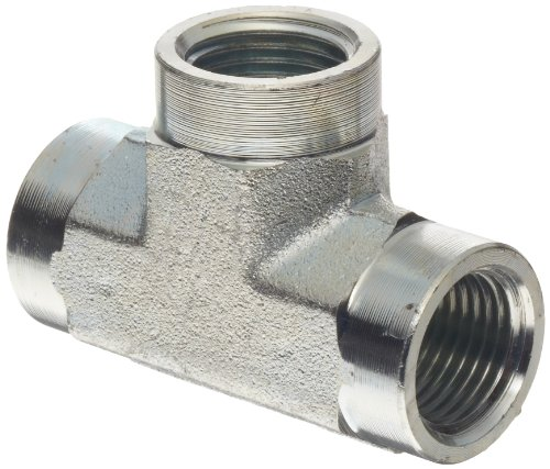 Hydraulic Pipe Puller Tee : Dixon zinc plated steel hydraulic pipe fitting tee