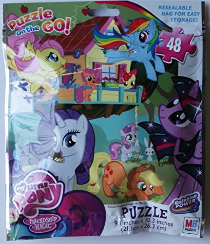My Little Pony 48 Piece Puzzle On the Go - 1