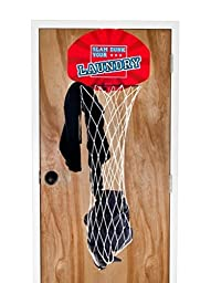 Trademark Over The Door Dunk Your Laundry Hamper Basketball by Trademark