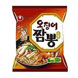 【韓国食品-ラーメン】 韓国のラーメン イカの味が効いた韓国式チャンポンラーメン ★イカチャンポン★