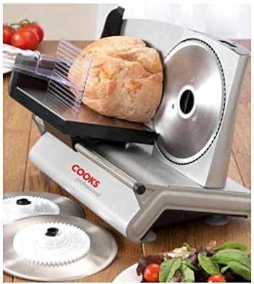 Cooks Professional Premium Electric Precision Food Slicer