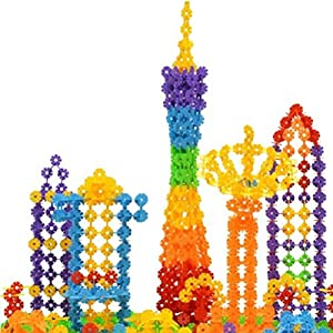 Great Deal(TM) Baby Snowflake Small Building Blocks, 150-Piece (Classic)