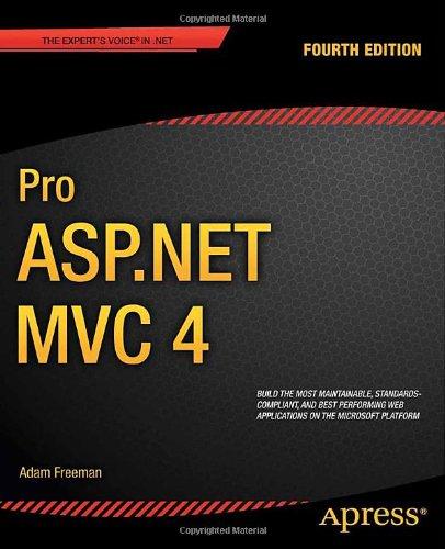 Pro ASP.NET MVC 4  1430242361 pdf