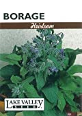 Lake Valley 53 Borage Heirloom Seed Packet
